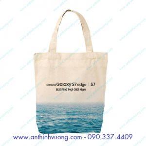 Túi vải bố in kỹ thuật số sam sung