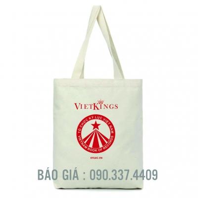 Túi vải bố quà tặng của Viet King