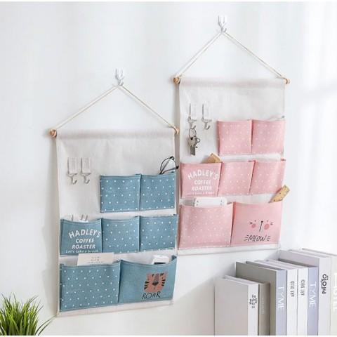 túi vải đựng đồ treo tường