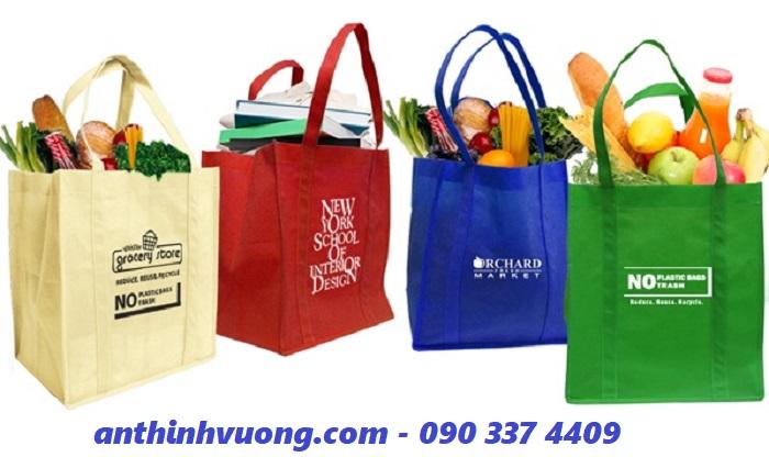 Túi vải chuyên dụng bảo vệ môi trường