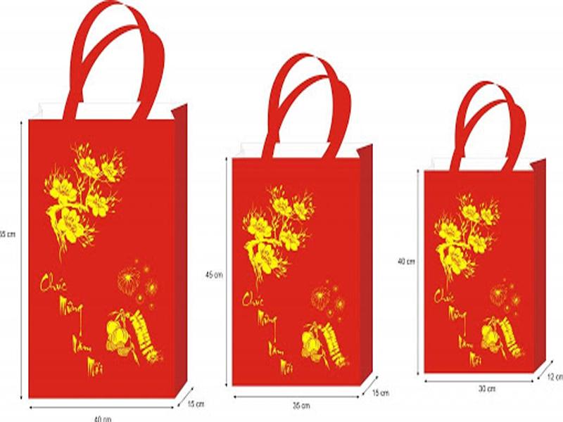Việc dùng túi vải làm quà tết 2021 thể hiện sự kín đáo và lịch sự