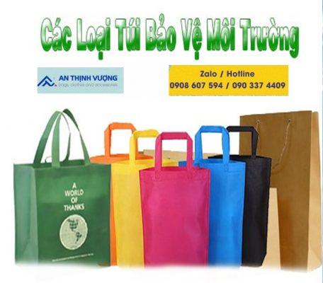 Đặt may túi vải bảo vệ môi trường xuất khẩu ở đâu?