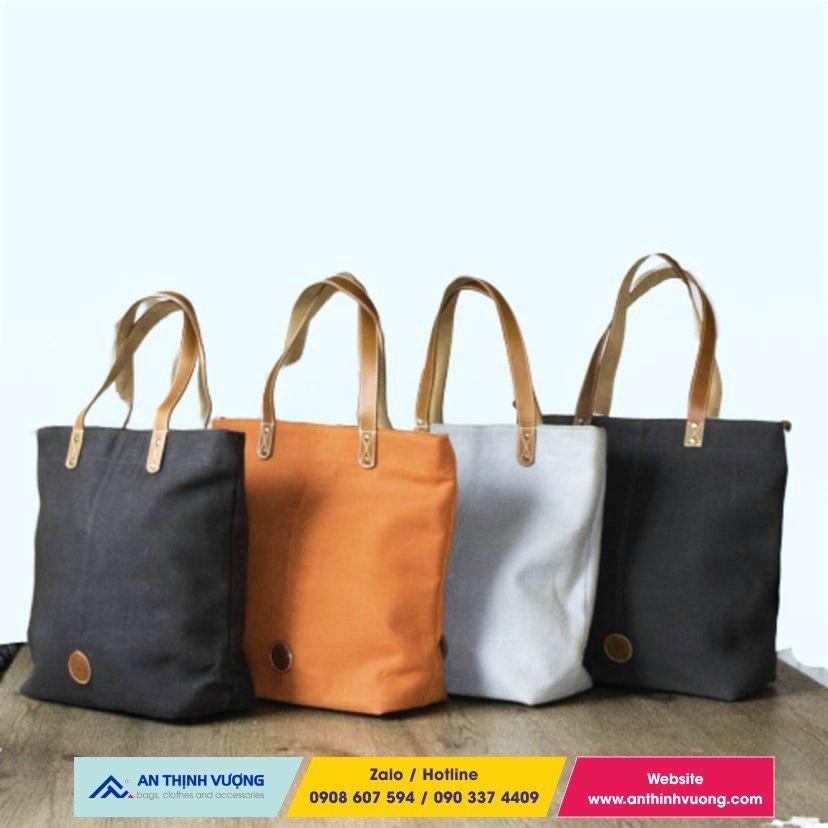 Đa dạng mẫu túi vải bố sản xuất theo yêu cầu