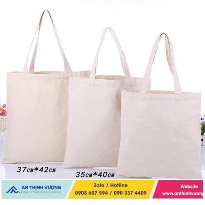 Anthinhvuong sản xuất túi vải bố trơn uy tín hàng đầu tại HCM hiện nay