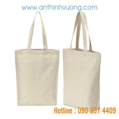 Anthinhvuong sản xuất túi vải bố trơn giá rẻ chất lượng cao