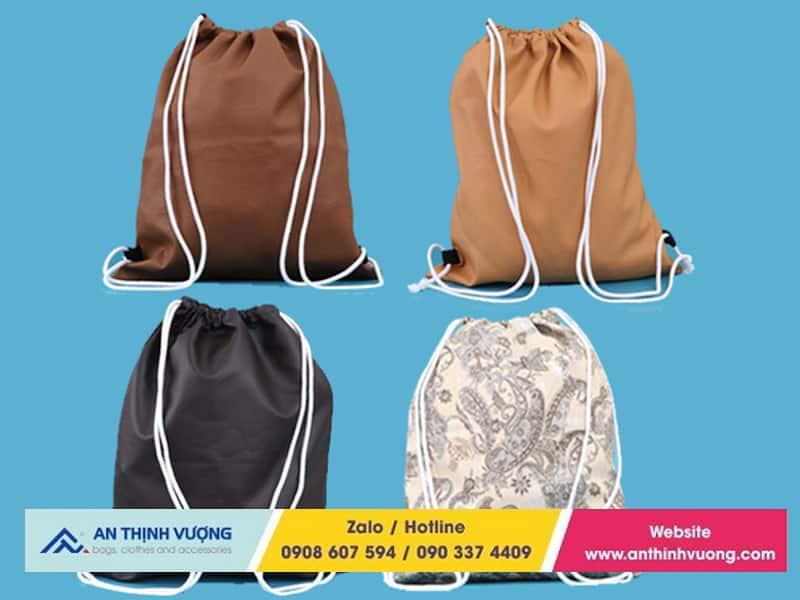 Đặc điểm của balo dây rút túi vải giá xưởng