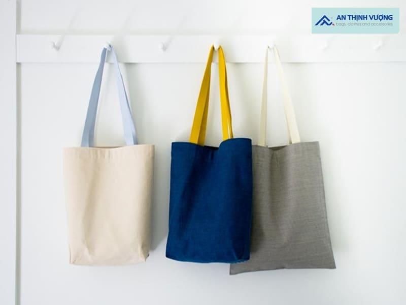 Nhu cầu may túi vải bố theo yêu cầu hiện nay