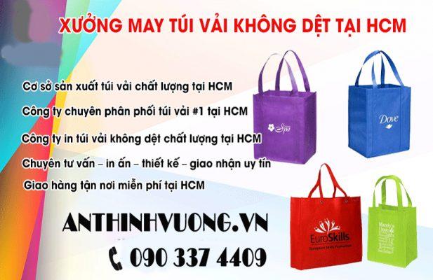 Nơi sản xuất túi vải không dệt chất lượng tại HCM
