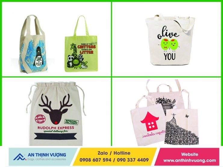 Túi vải bố canvas là sản phẩm được làm từ những nguyên liệu tự nhiên, an toàn
