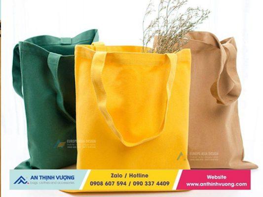 Giá sản xuất túi vải bố trơn siêu hấp dẫn