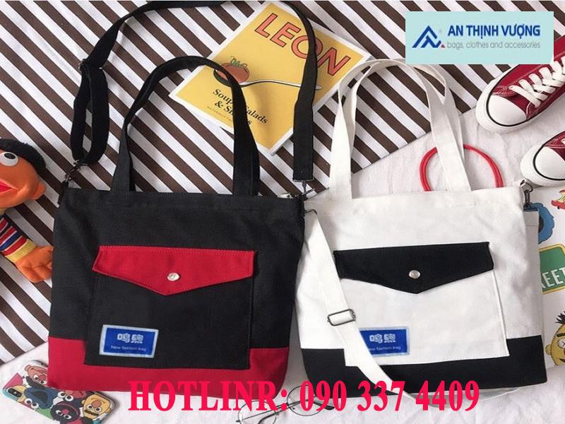 Nơi sản xuất túi vải đeo chéo giá rẻ chất lượng đảm bảo tại HCM