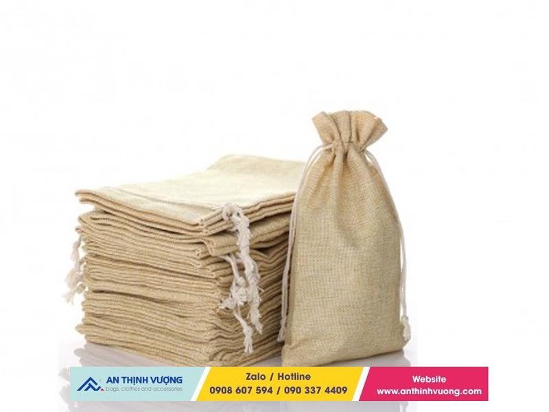 Quy trình may túi vải đay