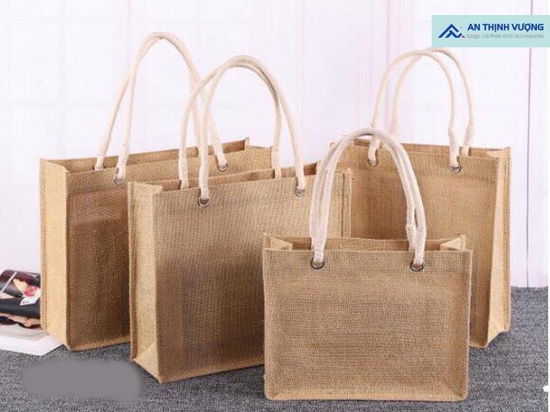 Túi vải đay là sản phẩm được đánh giá cao về tính bảo vệ môi trường