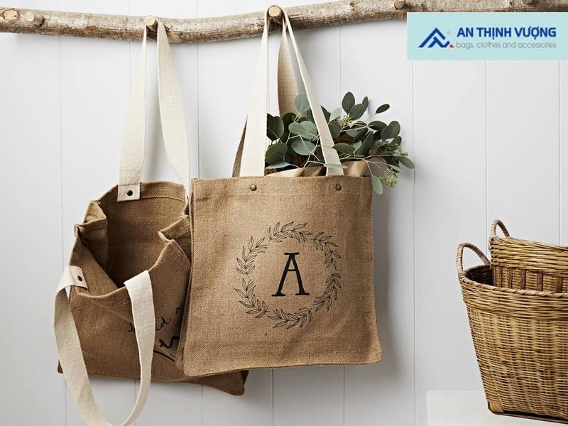 Túi vải đay chính là một trong những sản phẩm vô cùng thân thiện với môi trường